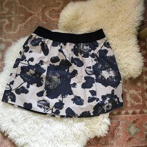 J. Crew ~ Floral skirt w/ pockets